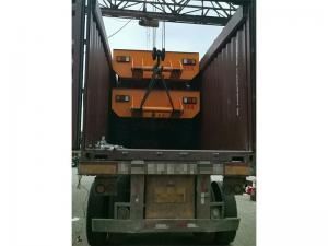 高铁长钢轨倒运车
